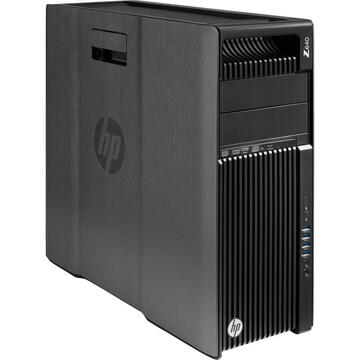 Desktop Refurbished Workstation HP Z640, 1 x CPU Intel Xeon Hexa Core E5-1650 V3 3.50GHz-3.80GHz, 32GB DDR4 ECC, 240GB SSD + 3TB HDD, nVidia Quadro K2200/4GB GDDR5, DVD-RW