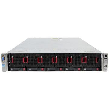 Server Refurbished Server HP ProLiant DL560 G8 2U, 4 x CPU Intel Hexa Core Xeon E5-4610 2.40GHz - 2.90GHz, 768GB DDR3 ECC, 3 X SSD 480GB + 2 x HDD 1.2TB SAS/10k, Raid P420i/1GB, iLO4 Advanced, 4 Port xGigabit, 2x Surse Hot Swap
