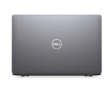 Notebook Dell Latitude 5510, Intel Core i5-10310U, 15.6inch, RAM 8GB, SSD 256GB, Intel UHD Graphics 620, Linux, Gray