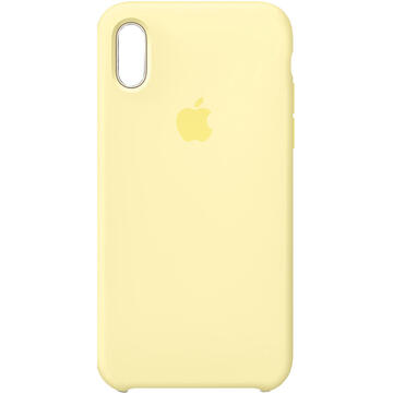 Husa Husa Capac Spate Silicon Galben APPLE iPhone XR