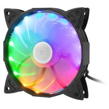 Natec GENESIS FAN HYDRION 130 RAINBOW LED 120MM