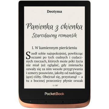 eBook Reader Pocketbook Touch HD 3 e-book reader Touchscreen 16 GB Wi-Fi Black, Spicy Cooper