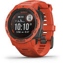 Smartwatch Garmin Instinct Solar GPS Watch Flame Red