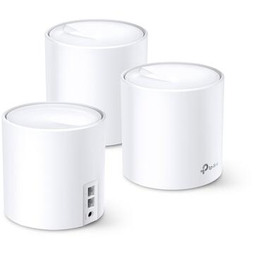 Router wireless TP-LINK Deco X20(3-pack) AX1800 Wi-Fi 6 Whole-Home