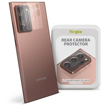 Set 3 folii protectie camere foto Samsung Galaxy Note 20 Ultra Ringke Invisible Screen Defender