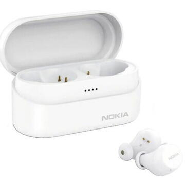 Nokia Power Earbuds Lite, tip In-Ear, Alb