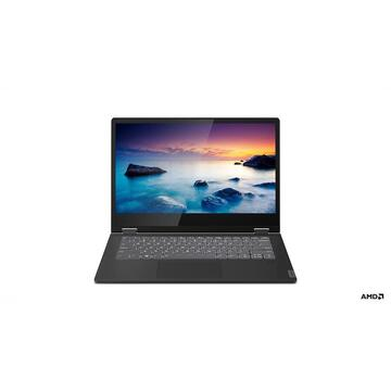 "Notebook Lenovo IdeaPad C340 Black Hybrid (2-in-1) 35.6 cm (14"") 1920 x 1080 pixels Touchscreen AMD Athlon 4 GB DDR4-SDRAM 256 GB SSD Windows 10 Home"