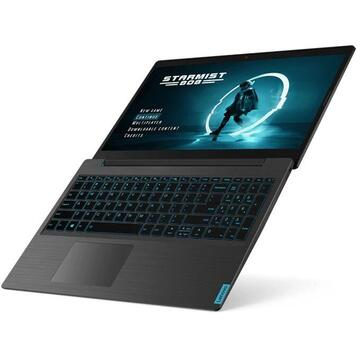 "Notebook Lenovo IdeaPad L340 Gaming Black Notebook 39.6 cm (15.6"") 1920 x 1080 pixels 9th gen Intel® Core™ i7 8GB DDR4-SDRAM 512GB SSD NVIDIA GeForce GTX 1050M Wi-Fi 5 (802.11ac)"