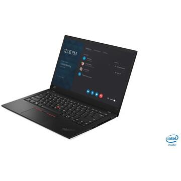 "Notebook Lenovo ThinkPad X1 Carbon Notebook Black 35.6 cm (14"") 3840 x 2160 pixels 8th gen Intel® Core™ i7 16 GB LPDDR3-SDRAM 512 GB SSD Wi-Fi 5 (802.11ac) Windows 10 Pro"