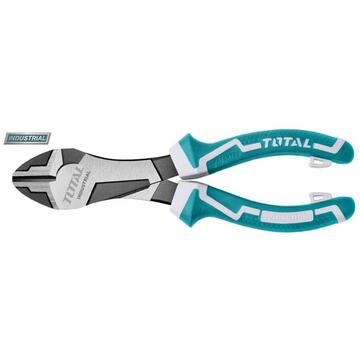 "TOTAL Cleste taietor - 7""/180mm - Cr-V (heavy-duty, 30% extra power) (INDUSTRIAL)"