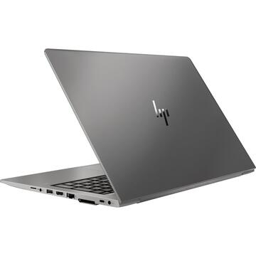 "Notebook HP ZBook 15u G6 Mobile workstation Black 39.6 cm (15.6"") 1920 x 1080 pixels 8th gen Intel® Core™ i5 8 GB DDR4-SDRAM 256 GB SSD AMD Radeon Pro WX 3200 Wi-Fi 5 (802.11ac) Windows 10 Pro"