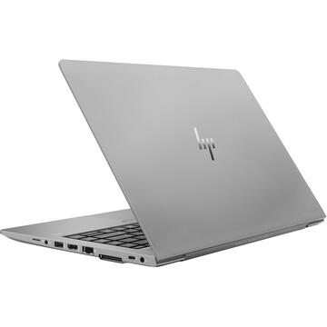 "Notebook HP ZBook 14u G5 Mobile workstation Silver 35.6 cm (14"") 1920 x 1080 pixels 8th gen Intel® Core™ i5 8 GB DDR4-SDRAM 512 GB SSD AMD Radeon Pro WX 3100 Windows 10 Pro"