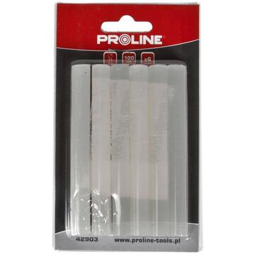 PROLINE BAGHETE SILICON IN BLISTER 11.2X250MM, 12/SET