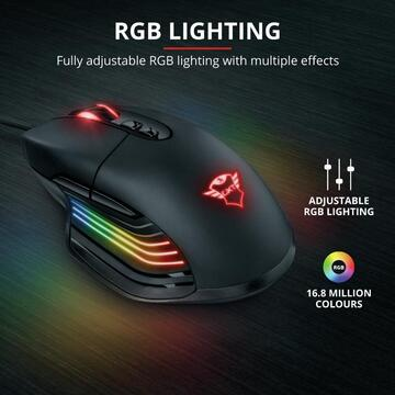 Mouse Trust GXT 940 Xidon RGB Gaming Mouse