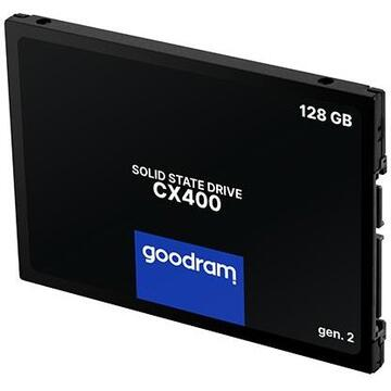 "SSD GOODRAM CX400 gen.2 2.5"" 128 GB Serial ATA III 3D TLC NAND"