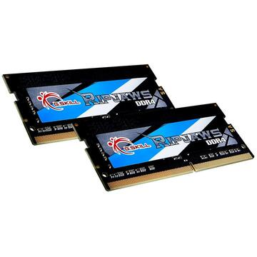 Memorie laptop G.Skill Ripjaws F4-2666C18D-64GRS memory module 64 GB DDR4 2666 MHz