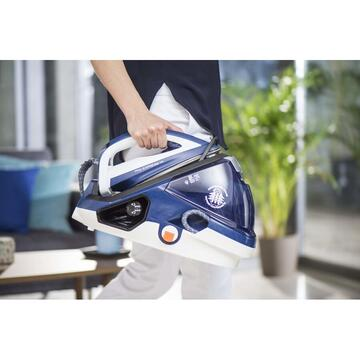 Fier de calcat Tefal GV9060 steam ironing station 2400 W 1.6 L Autoclean Catalys soleplate Blue,White