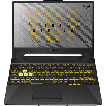 Notebook ASUS FX506LI Intel Core i5-10300H 15.6inch FHD 8GB 512GB M.2 NVMe PCIe 3.0 SSD Nvidia GeForce GTX 1650 TI NO OS 2Y Fortress Gray