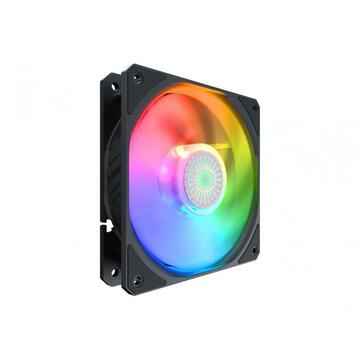 "VENTILATOR COOLER MASTER PC 120x120x25mm,  ""SickleFlow 120 ARGB"", 62CFM, air balance, silentios, rifle bearing ""MFX-B2DN-18NPA-R1"""