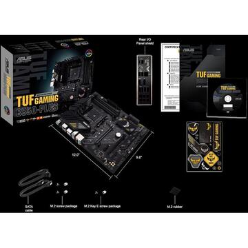 Placa de baza MB ASUS AMD TUF GAMING B550-PLUS