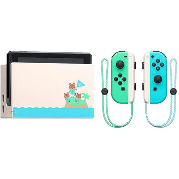 Consola Nintendo Consola Switch Animal Crossing New Horizons Special Edition Blue/Green