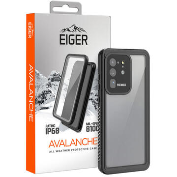 Husa Eiger Husa Avalanche Samsung Galaxy S20 Ultra Black (outdoor)