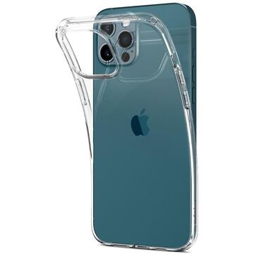 Husa Spigen Husa Liquid Crystal iPhone 12 / 12 Pro Crystal Clear