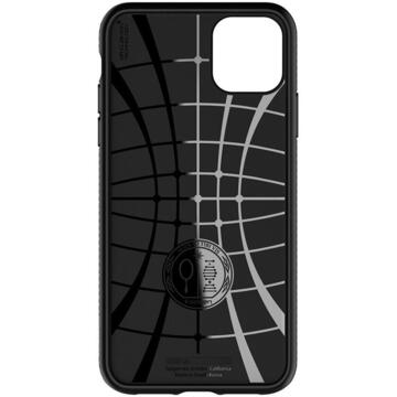 Husa Spigen Husa Liquid Air iPhone 11 Matte Black