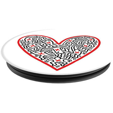 Popsockets Suport Stand Adeziv Cross My Heart by Keith Haring