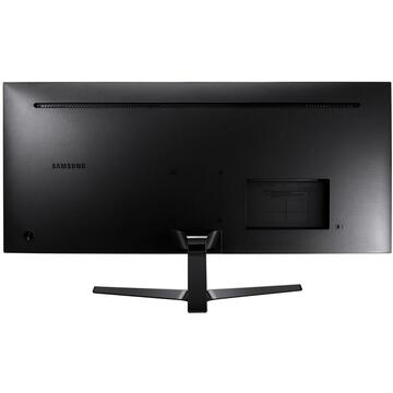 "Monitor LED Samsung LS34J550WQU LED display 86.6 cm (34.1"") 3440 x 1440 pixels UltraWide Quad HD Flat Black"