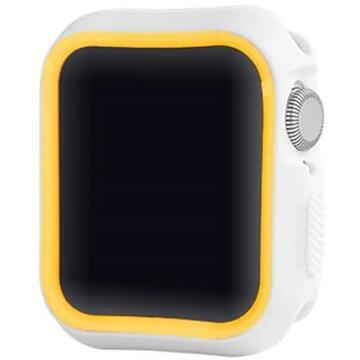 Devia Dazzle Series Case Apple Watch 4 44mm White & Yellow