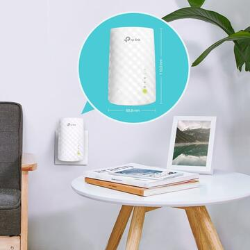 TP-LINK wireless  750Mbps, 1 port 10/100Mbps, 3 antene interne, dual band AC750, 2.4GHz si 5GHz