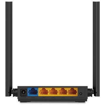 Router wireless TP-LINK Wireless 1200Mbps, 4 porturi 10/100Mbps, 4 antene externe, Dual Band AC1200
