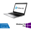 Laptop Refurbished Laptop HP ProBook 430 G4, Intel Core i5-7200U 2.50GHz, 4GB DDR4, 120GB SSD M.2, 13.3 Inch, Webcam + Windows 10 Pro