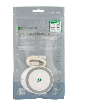 4smarts Suport tip Dock QI Wireless White-T.Verde 0.1 lei/buc