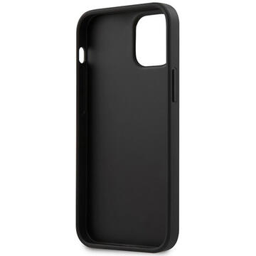 Husa BMW Husa Signature Logo Imprint iPhone 12 Mini Negru