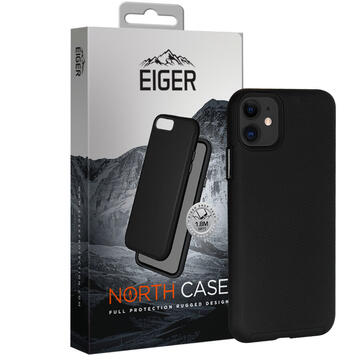 Husa Eiger Carcasa North Case iPhone 12 Mini Black (shock resistant)
