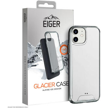 Husa Eiger Husa Glacier Case iPhone 12 Mini Clear (shock resistant)