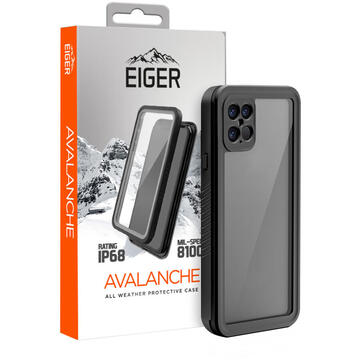 Husa Eiger Husa Avalanche iPhone 12 Pro Max Black (outdoor)