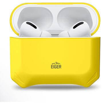 Husa Eiger Husa North Case Airpods Pro Sunrise Yellow