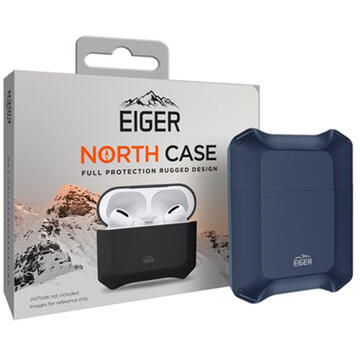 Husa Eiger Husa North Case Airpods Generation 1/2 Navy Blue