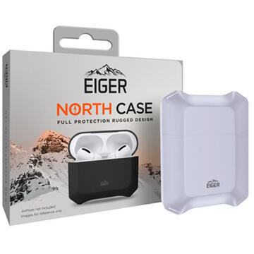 Husa Eiger Husa North Case Airpods Generation 1/2 Frost Blue