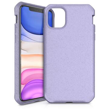 Husa IT Skins Husa Feronia Bio iPhone 11 Purple (material biodegradabil)