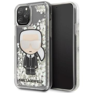 Husa Karl Lagerfeld Husa Ikonik Glitter Glow In The Dark iPhone 11 Pro