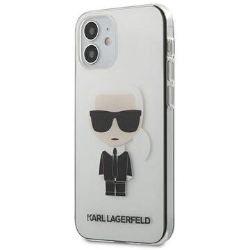 Husa Karl Lagerfeld Husa Ikonik iPhone 12 Mini Transparent