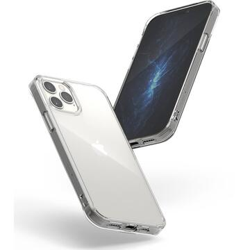 Husa Ringke Husa Fusion PC TPU Bumper iPhone 12 / 12 Pro Transparent