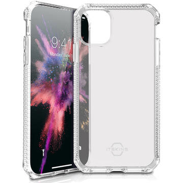 Husa IT Skins Husa Spectrum Clear iPhone 11 Pro Max Transparent (antishock,antimicrobial)