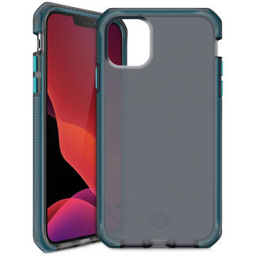 Husa IT Skins Husa Supreme Frost iPhone 12 Mini Centurion Blue & Black (antishock,antimicrobial)