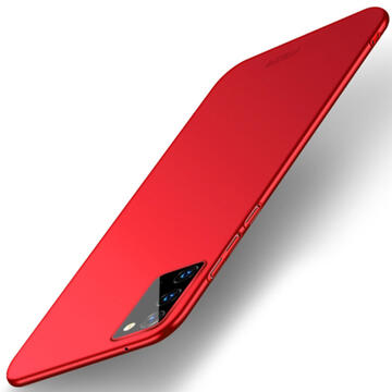 Husa Mofi Husa Frosted Ultra Thin Samsung Galaxy Note 20 Ultra Red (anti-amprente, 360°)