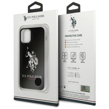 Husa US Polo Assn Husa Big Logo iPhone 12 / 12 Pro Negru